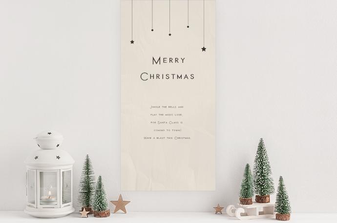 手作りクリスマスタペストリー